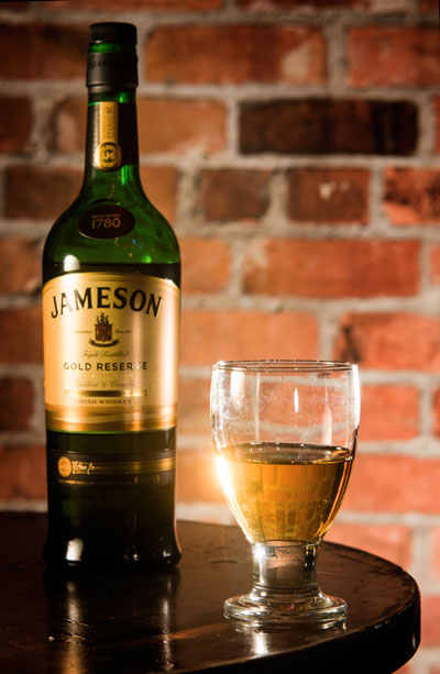 jameson-whiskey at Costigans Irish Whiskey bar Cork