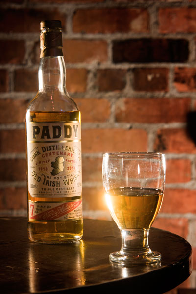 Paddy whiskey  at Costigans Irish Whiskey bar Cork
