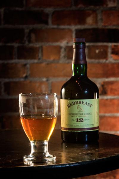 Redbreast-whiskey Green-spot whiskey Paddy whiskey  at Costigans Irish Whiskey bar Cork